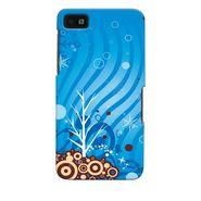 Snooky 35381 Digital Print Hard Back Case Cover For Blackberry Z10 - Blue