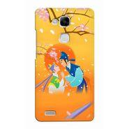 Snooky 37468 Digital Print Hard Back Case Cover For huawei Ascend Mate 7 - Orange