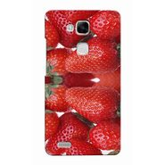 Snooky 37509 Digital Print Hard Back Case Cover For huawei Ascend Mate 7 - Red