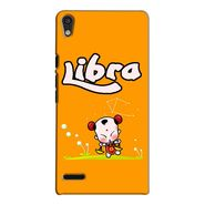 Snooky 38285 Digital Print Hard Back Case Cover For Huawei Ascend P6 - Yellow
