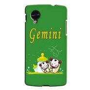 Snooky 35967 Digital Print Hard Back Case Cover For LG Google Nexus 5 - Green