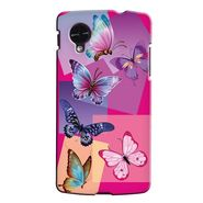 Snooky 35984 Digital Print Hard Back Case Cover For LG Google Nexus 5 - Pink