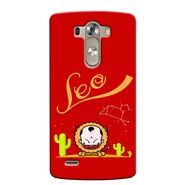 Snooky 37631 Digital Print Hard Back Case Cover For LG G3 - Red