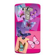 Snooky 37654 Digital Print Hard Back Case Cover For LG G3 - Pink