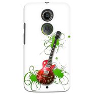 Snooky 35931 Digital Print Hard Back Case Cover For Motorola Moto X2 - White
