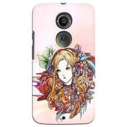 Snooky 35938 Digital Print Hard Back Case Cover For Motorola Moto X2 - Multicolour