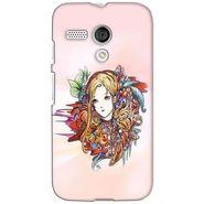 Snooky 38608 Digital Print Hard Back Case Cover For Motorola Moto G - Multicolour