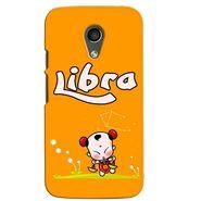 Snooky 38635 Digital Print Hard Back Case Cover For Motorola Moto G 2nd Gen - Yellow