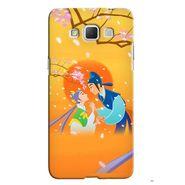 Snooky 36518 Digital Print Hard Back Case Cover For Samsung Galaxy Grand max - Orange