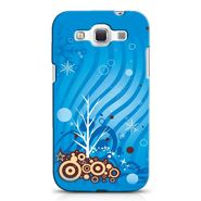 Snooky 38262 Digital Print Hard Back Case Cover For Samsung Galaxy Grand Quattro GT-I8552 - Blue