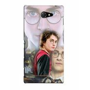 Snooky 37769 Digital Print Hard Back Case Cover For Sony Xperia M2 Dual - Multicolour