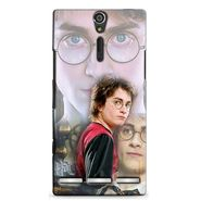 Snooky 37869 Digital Print Hard Back Case Cover For Sony Xperia S - Multicolour