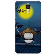 Snooky 38460 Digital Print Hard Back Case Cover For Xiaomi MI 4 - Blue