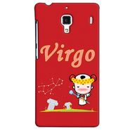 Snooky 38488 Digital Print Hard Back Case Cover For Xiaomi Redmi 1S - Red