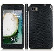 Snooky 18714 Mobile Skin Sticker For Lenovo K860 - Black