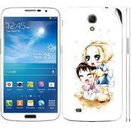 Snooky 39613 Digital Print Mobile Skin Sticker For Samsung Galaxy Mega 6.3 - White