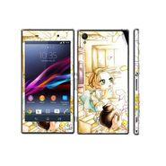 Snooky 39737 Digital Print Mobile Skin Sticker For Sony Xperia Z1 - White