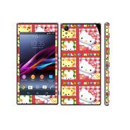 Snooky 39738 Digital Print Mobile Skin Sticker For Sony Xperia Z1 - Pink