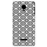Snooky 40276 Digital Print Mobile Skin Sticker For Micromax Canvas Fun A74 - White