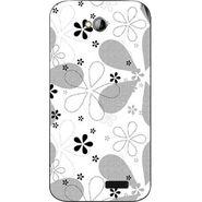 Snooky 40316 Digital Print Mobile Skin Sticker For Micromax Bolt A089 - White
