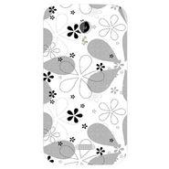 Snooky 40358 Digital Print Mobile Skin Sticker For Micromax Canvas Lite A92 - White