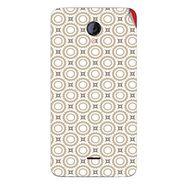 Snooky 40417 Digital Print Mobile Skin Sticker For Micromax Unite 2 A106 - Brown
