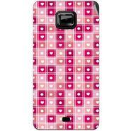 Snooky 40523 Digital Print Mobile Skin Sticker For Micromax Ninja A91 - Pink