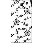 Snooky 40538 Digital Print Mobile Skin Sticker For Micromax Canvas Xpress A99 - White