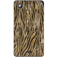 Snooky 40545 Digital Print Mobile Skin Sticker For Micromax Canvas Doodle 3 A102 - Brown