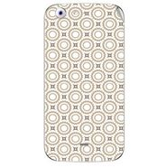 Snooky 40683 Digital Print Mobile Skin Sticker For Micromax Canvas 4 A210 - Brown