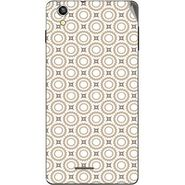 Snooky 40921 Digital Print Mobile Skin Sticker For XOLO A1010 - Brown