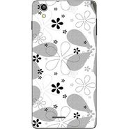 Snooky 40932 Digital Print Mobile Skin Sticker For XOLO A1010 - White
