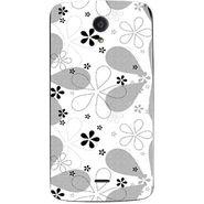 Snooky 40946 Digital Print Mobile Skin Sticker For XOLO Omega 5.0 - White