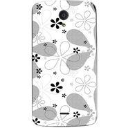 Snooky 40960 Digital Print Mobile Skin Sticker For XOLO Omega 5.5 - White