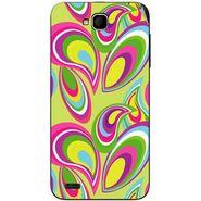 Snooky 41051 Digital Print Mobile Skin Sticker For XOLO Q800 - multicolour