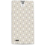 Snooky 41117 Digital Print Mobile Skin Sticker For XOLO Q1010i - Brown