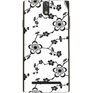 Snooky 41140 Digital Print Mobile Skin Sticker For XOLO Q1020 - White