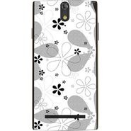 Snooky 41142 Digital Print Mobile Skin Sticker For XOLO Q1020 - White