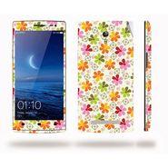 Snooky 41300 Digital Print Mobile Skin Sticker For OPPO Find 7 X9076 - White