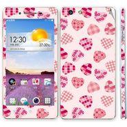 Snooky 41348 Digital Print Mobile Skin Sticker For OPPO R1 R829t - White