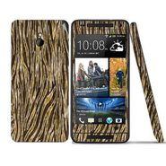 Snooky 41497 Digital Print Mobile Skin Sticker For HTC One mini - Brown
