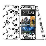 Snooky 41504 Digital Print Mobile Skin Sticker For HTC One mini - White