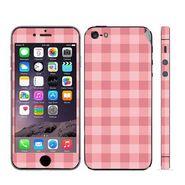 Snooky 41514 Digital Print Mobile Skin Sticker For Apple Iphone 5 - Pink