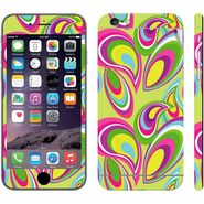 Snooky 41555 Digital Print Mobile Skin Sticker For Apple Iphone 6 Plus - multicolour