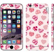 Snooky 41558 Digital Print Mobile Skin Sticker For Apple Iphone 6 Plus - White