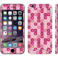 Snooky 41559 Digital Print Mobile Skin Sticker For Apple Iphone 6 Plus - Pink