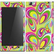 Snooky 41625 Digital Print Mobile Skin Sticker For Lenovo K900 - multicolour