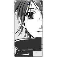 Snooky 41701 Digital Print Mobile Skin Sticker For Lava Iris 504Q Plus - Grey