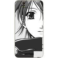 Snooky 41797 Digital Print Mobile Skin Sticker For Lava Iris X1 - Grey