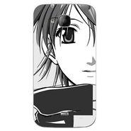Snooky 42054 Digital Print Mobile Skin Sticker For Intex Aqua N2 - Grey